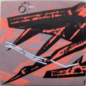 """Z'ev's """"Wipe Out"""", designed by Neville Brody."""